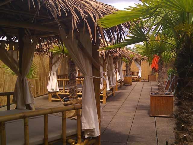 Bambus Gartenmöbel Therme