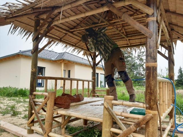 Urban Bambus Montage