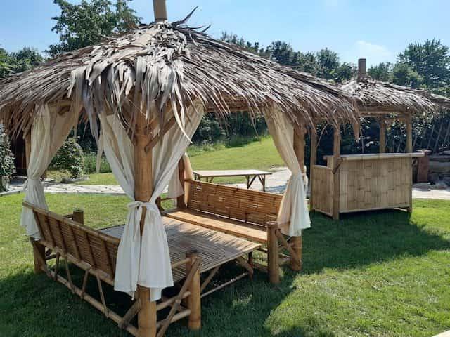 Bambus Gartenmöbel