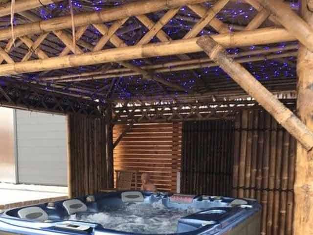 Bambus Pavillon