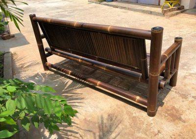 Sitzgruppe Bambus