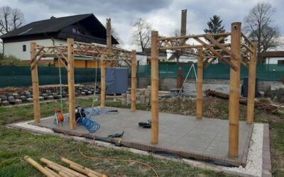 Pavillon selber bauen