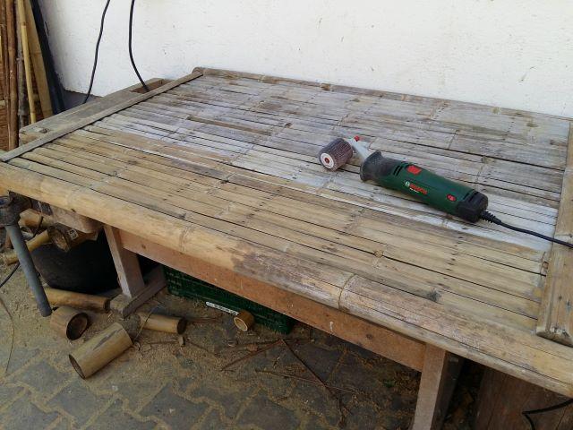 bambusmoebel pflegen abschleifen