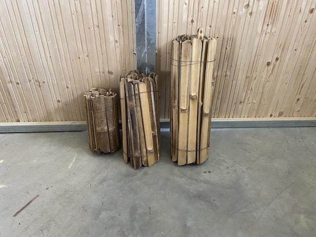 Bambus Latten für Pavillon selber bauen