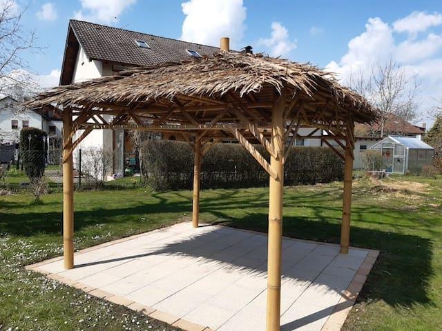 Pavillon selber bauen für den Garten